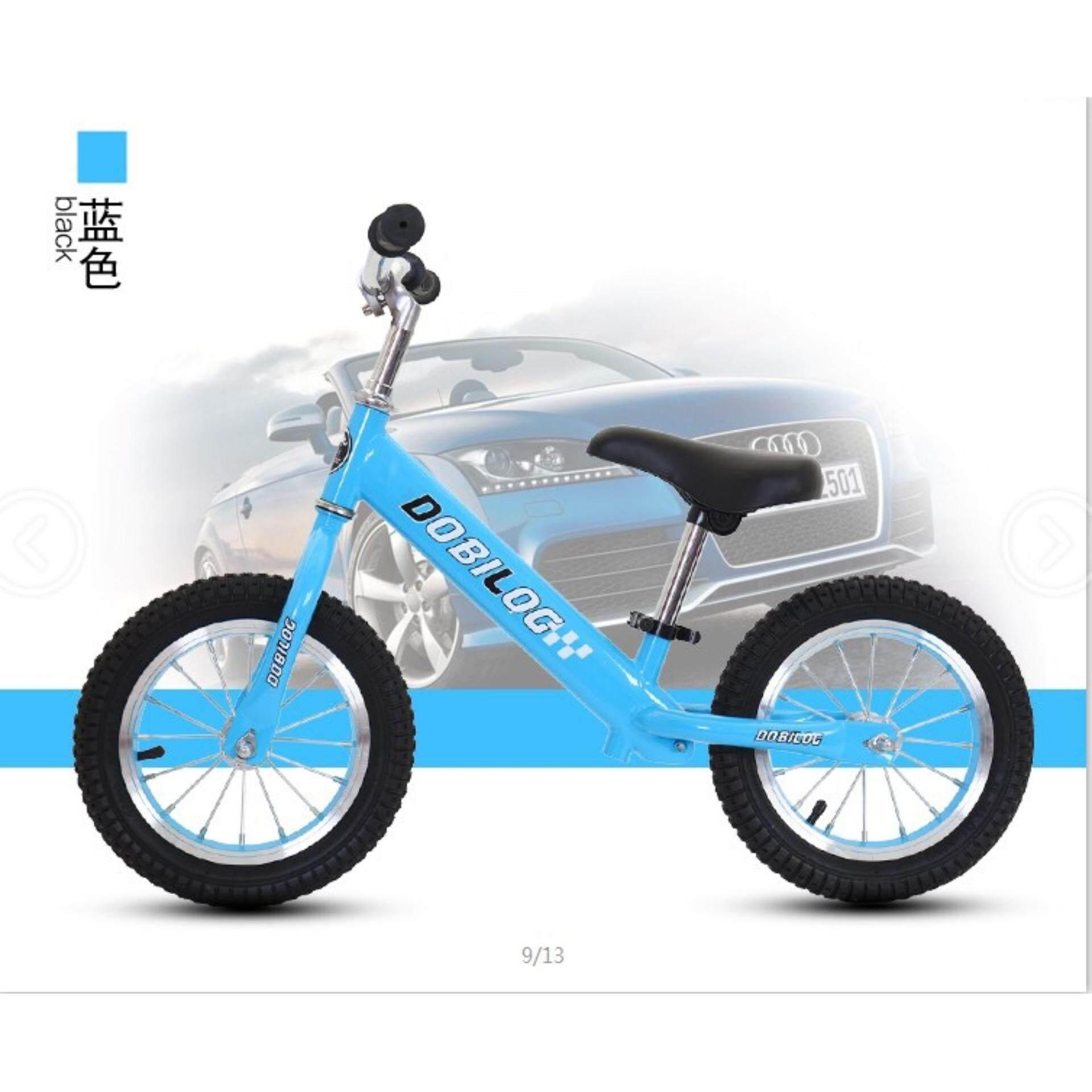 """Dobilog / DBLong 12"""" Balance Bike/ Push Bike / No Pedal Push Bike (Steel Frame)"""
