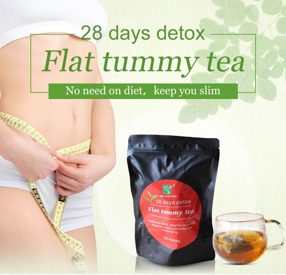Flat Tummy Slimming Morning Evening Diet Drink Detox Tea Philippines