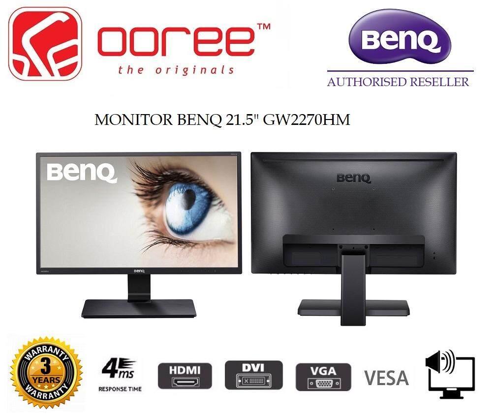 GENUINE BENQ LED FLAT FHD 21.5 GW2270HM LCD MONITOR (4MS/VGA/DVI/HDMI/SPK/VESA) (5M.MOB01.0057) BLACK Malaysia