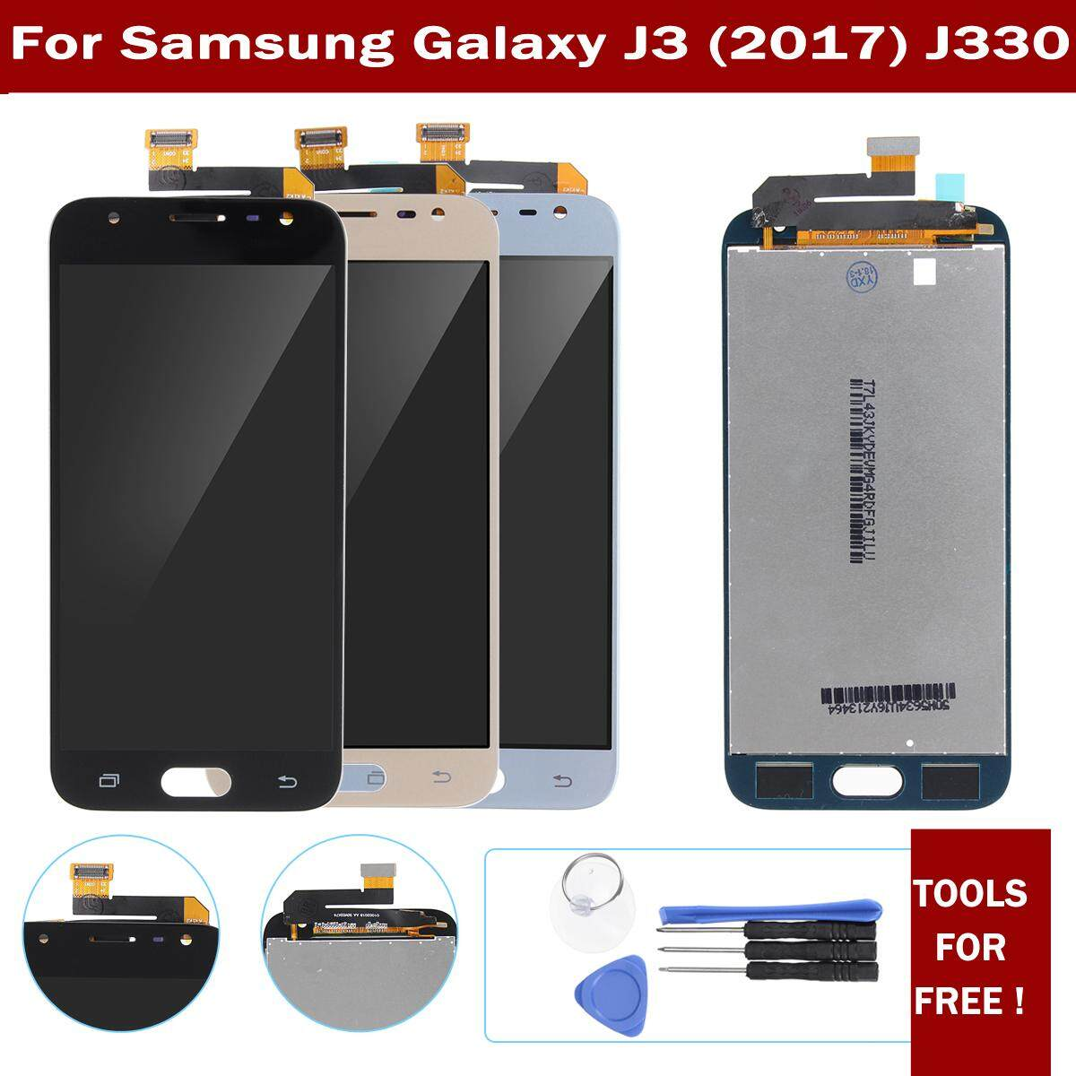 Features Lcd Display Touch Screen Digitizer Assembly Tool For Samsung J3 2016 J320 Aa Galaxy J330 2017