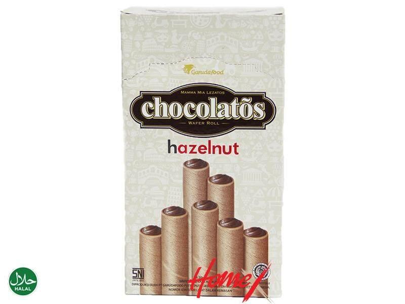 GarudaFood Chocolatos Hazelnut (20 pieces)