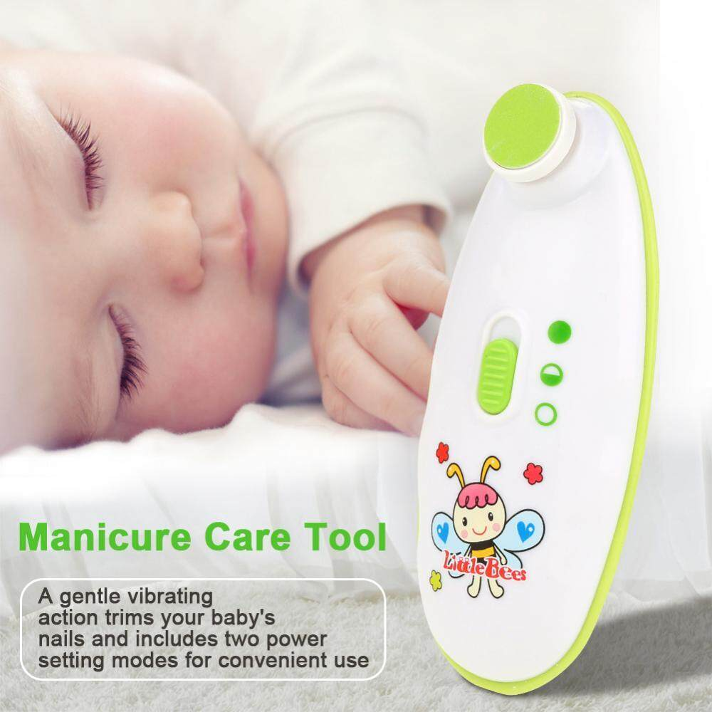 Newborn Baby Toddler Kids Electric Nail Trimmer for Safe and Effective Clipper Manicure Tool