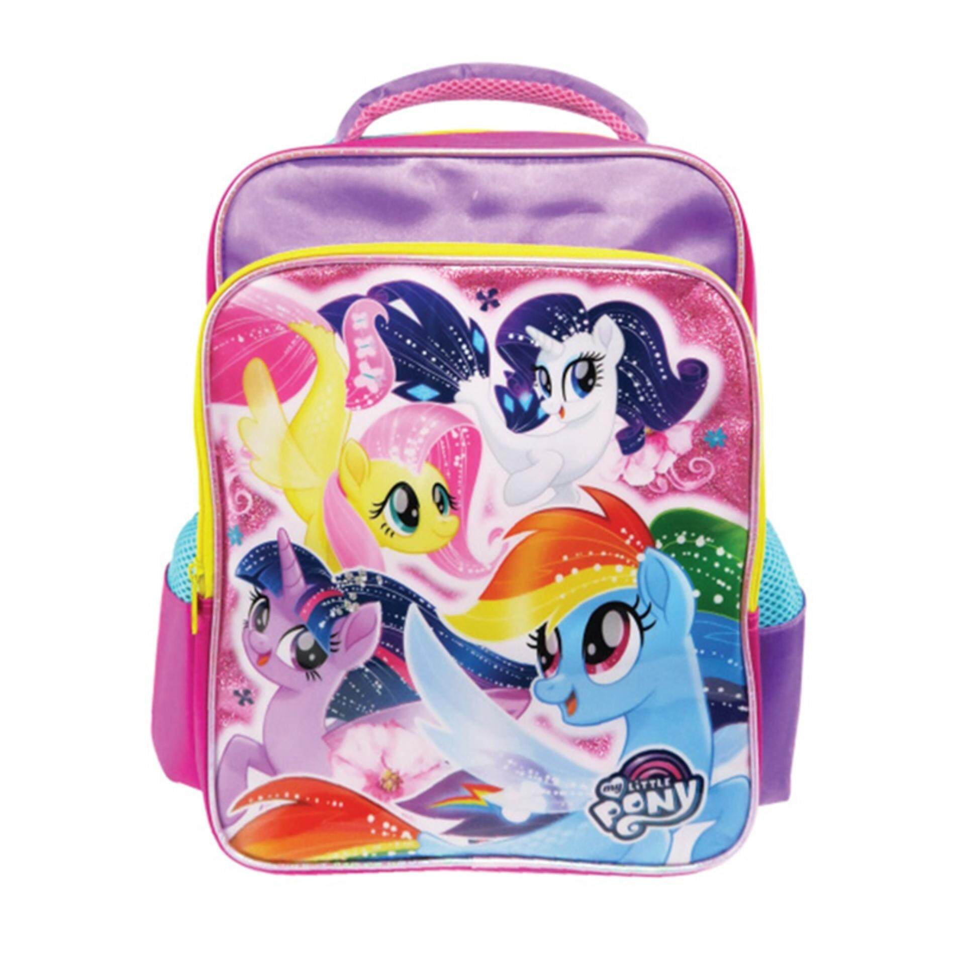 7a4d969f7d90 My Little Pony Backpack Pre School Bag - Purple Colour