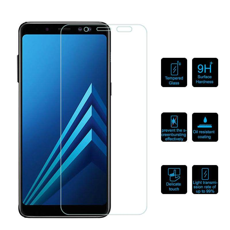 Fitur For Samsung Galaxy A6 Plus 2018 Tempered Glass Screen