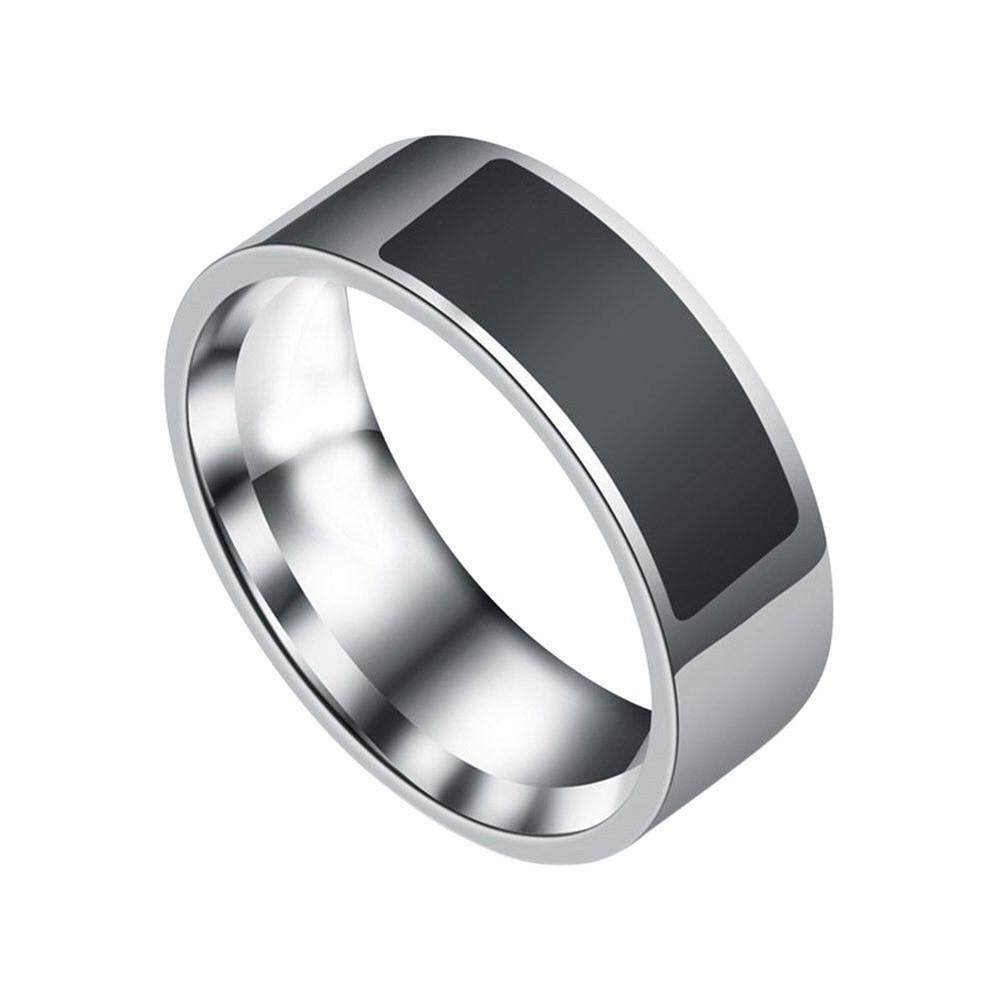 Malloryshop bluetooth Touch ScreenNFC Multifunctional Waterproof Intelligent Ring Smart Wear Finger Digital Ring