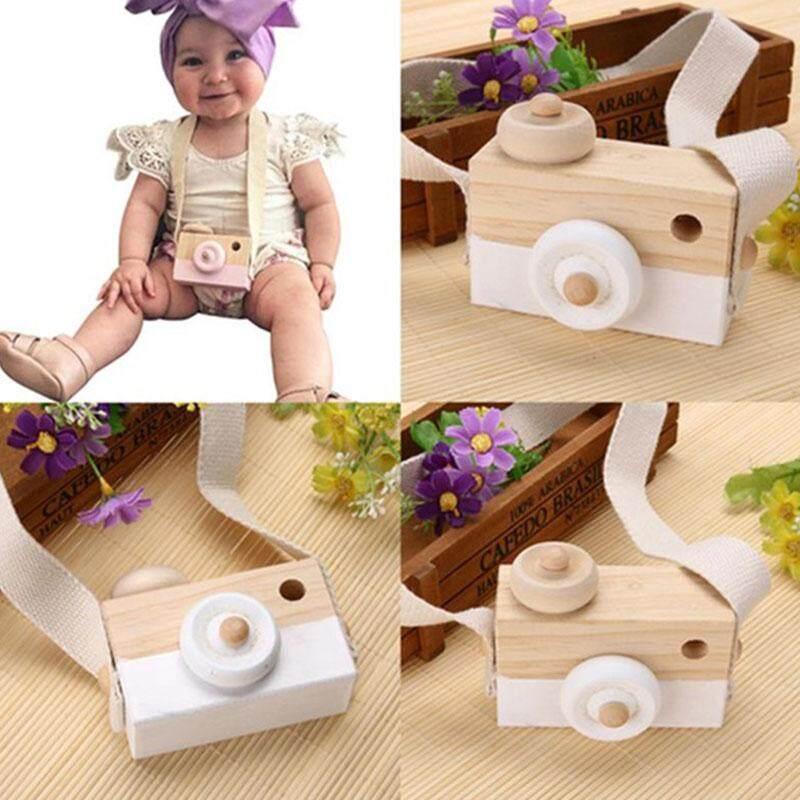 Vishine Mall free shipping Wooden Camera Toy Creative Gifts Decoration Room Hanging Portabel Traveling Safe