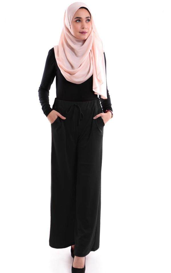 JF Fashion Evelyn Plain Palazzo with pocket M374P