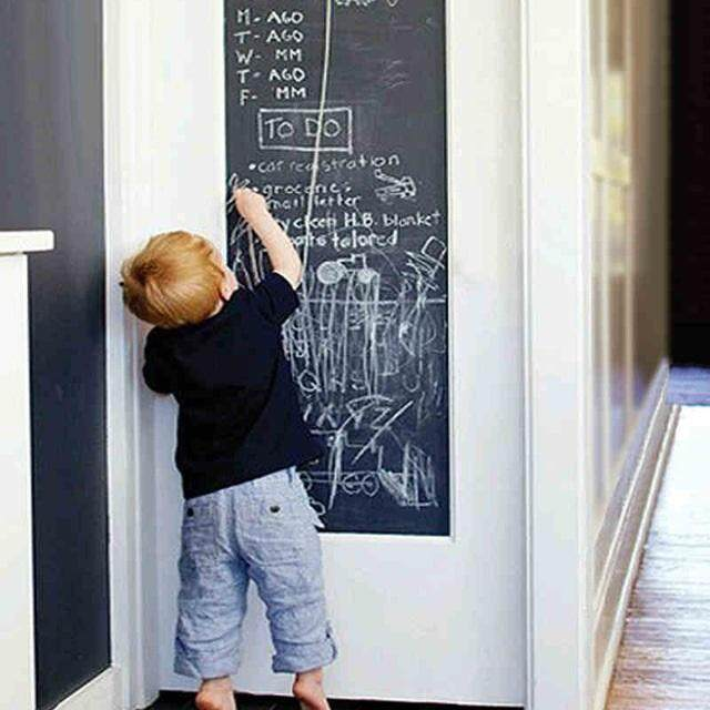 Chalk Board Blackboard Stickers On The Wall For Child Education Draw Decals Art Sticker For Child