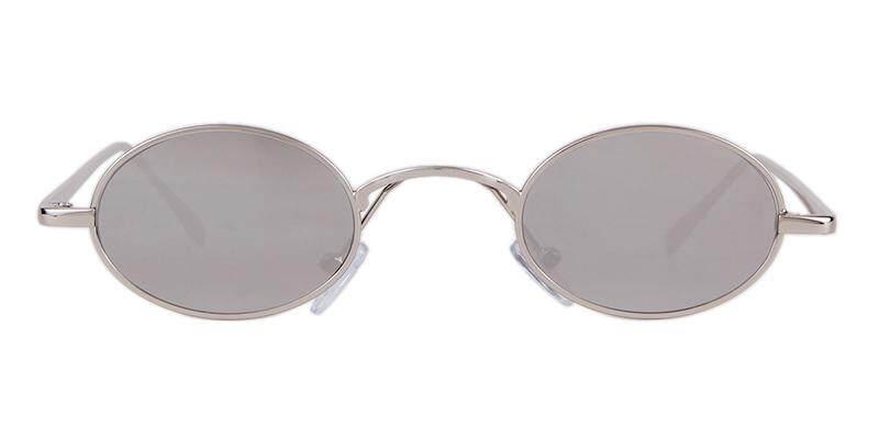 7520e8ccc0 2018 Retro Tiny Slim Sunglasses Women Men Brand Designer 90S Skinny Small Oval  Sun Glasses Black