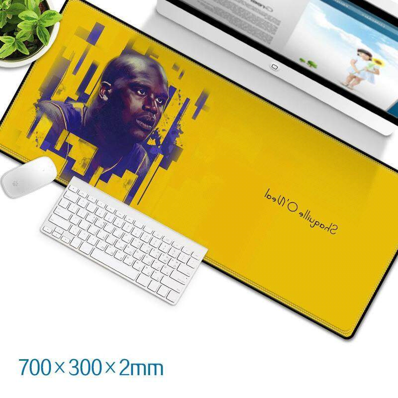 Shaquille O'Neal 14-1b Gaming Mat Non-slip Anti Fray Stitching Beautiful Mouse Pad