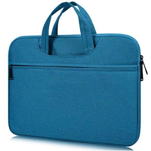 Laptop Messenger Bags 14-15 Inch Laptop Sleeve Case for 15 Dell XPS 15 9550 9560, HP Stream 14, Acer Chromebook 14, Lenovo ThinkPad X1 Carbon 14, 15 MacBook Pro with Touch Bar A1707, Waterproof Laptop Case Bag, Sky Blue - intl