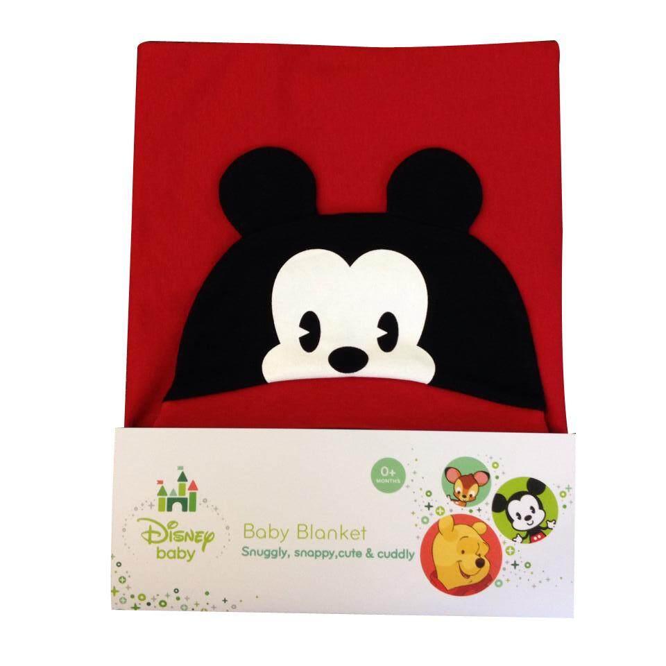 Disney Baby Cuties Hooded Blanket (Mickey Red)