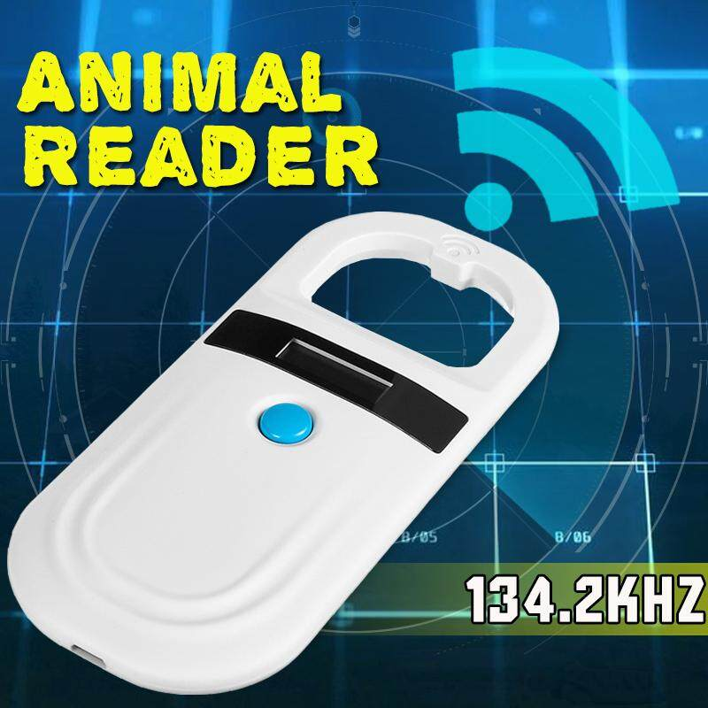 134.2 Khz Hewan Pembaca Identitas Oled Peliharaan Portable Pemindai Microchip Perangkat Genggam Rfid By Audew.