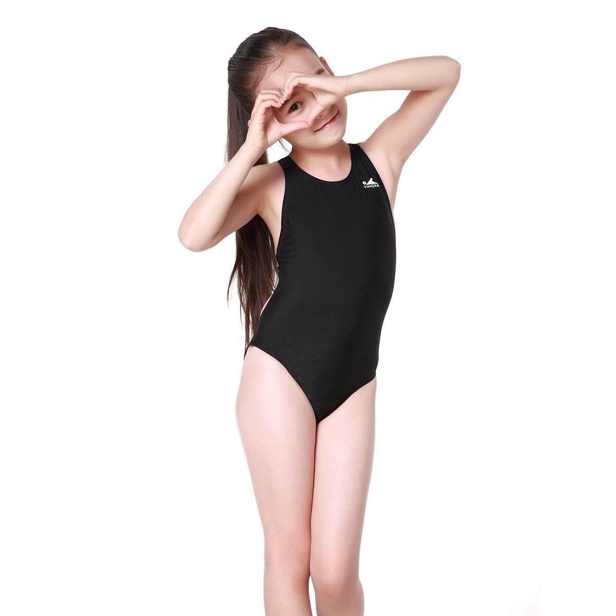 Yingfa Baju Renang Anak-anak Pakaian Renang Bahan Sisik Ikan Pola