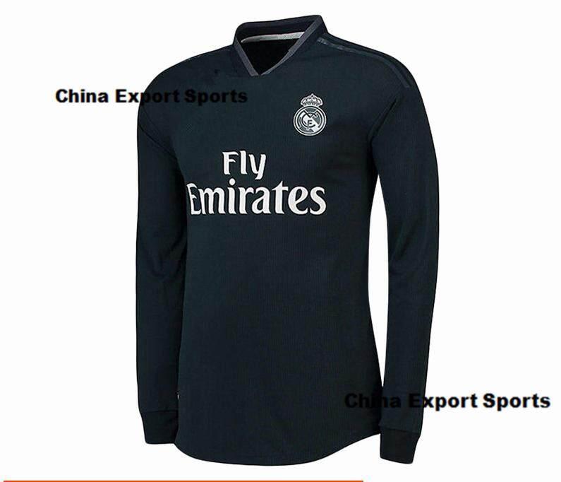 b4b97c05f (S-2XL)2019 New Season Top Quality Real Madrid Home And Away Football