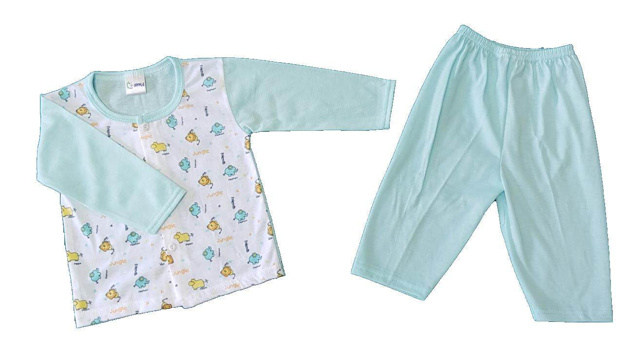 Newborn & Baby 3 SET Pajamas Bundle Sales (Fit to Age: 6-18Mth Mass:8-12kg Height:69-80CM)