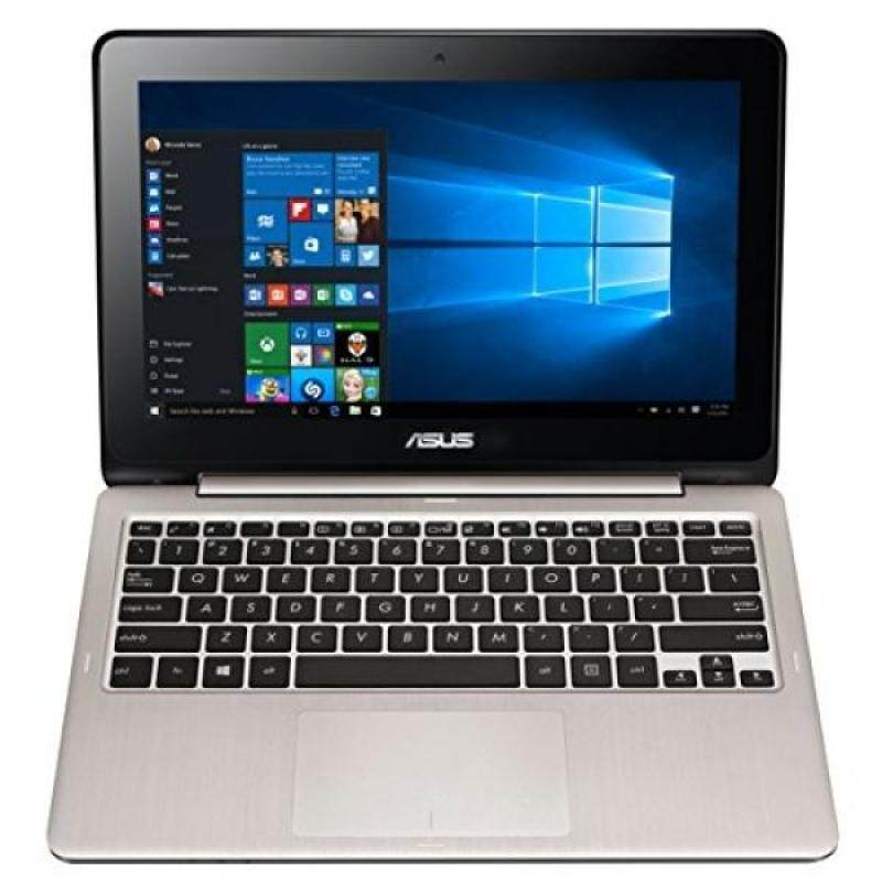 ASUS VivoBook Flip TP200SA-DH01T 11.6 inch display Thin and Lightweight 2-in-1 HD Touchscreen Laptop, Intel Celeron 2.48 GHz Processor, 4GB RAM, 32GB EMMC Storage, Windows 10 Home - intl
