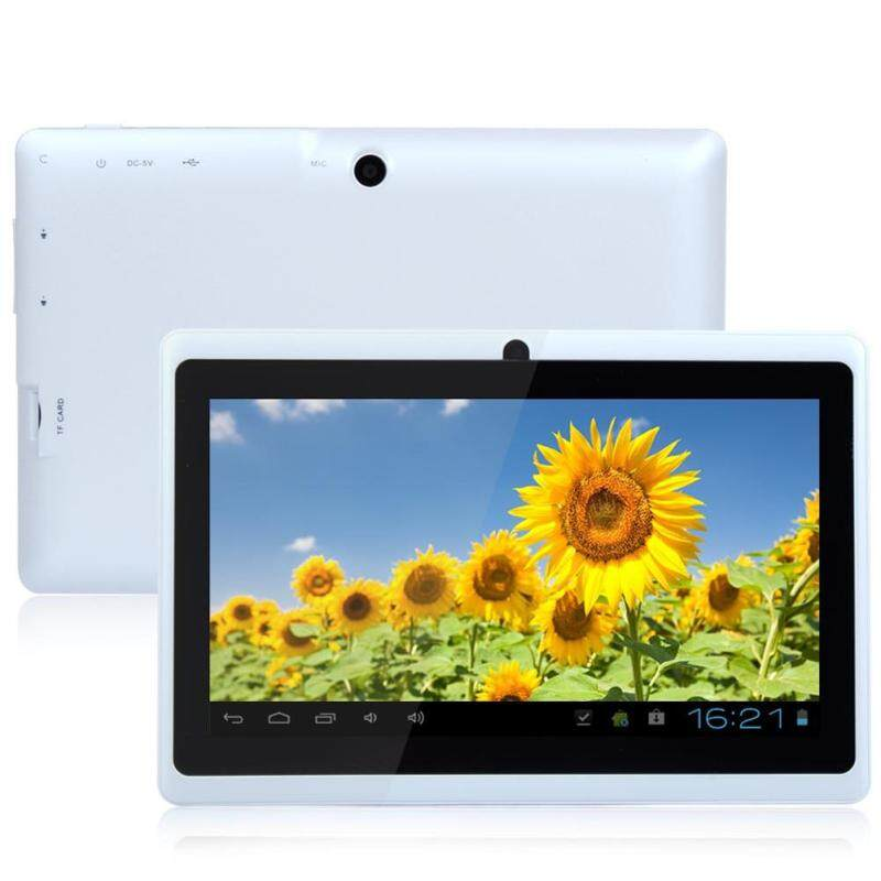Limited-Time Sale 7 Inch A33 Google Android 4.4 Quad Core Dual Camera 8GB WiFi PAD White Tablet