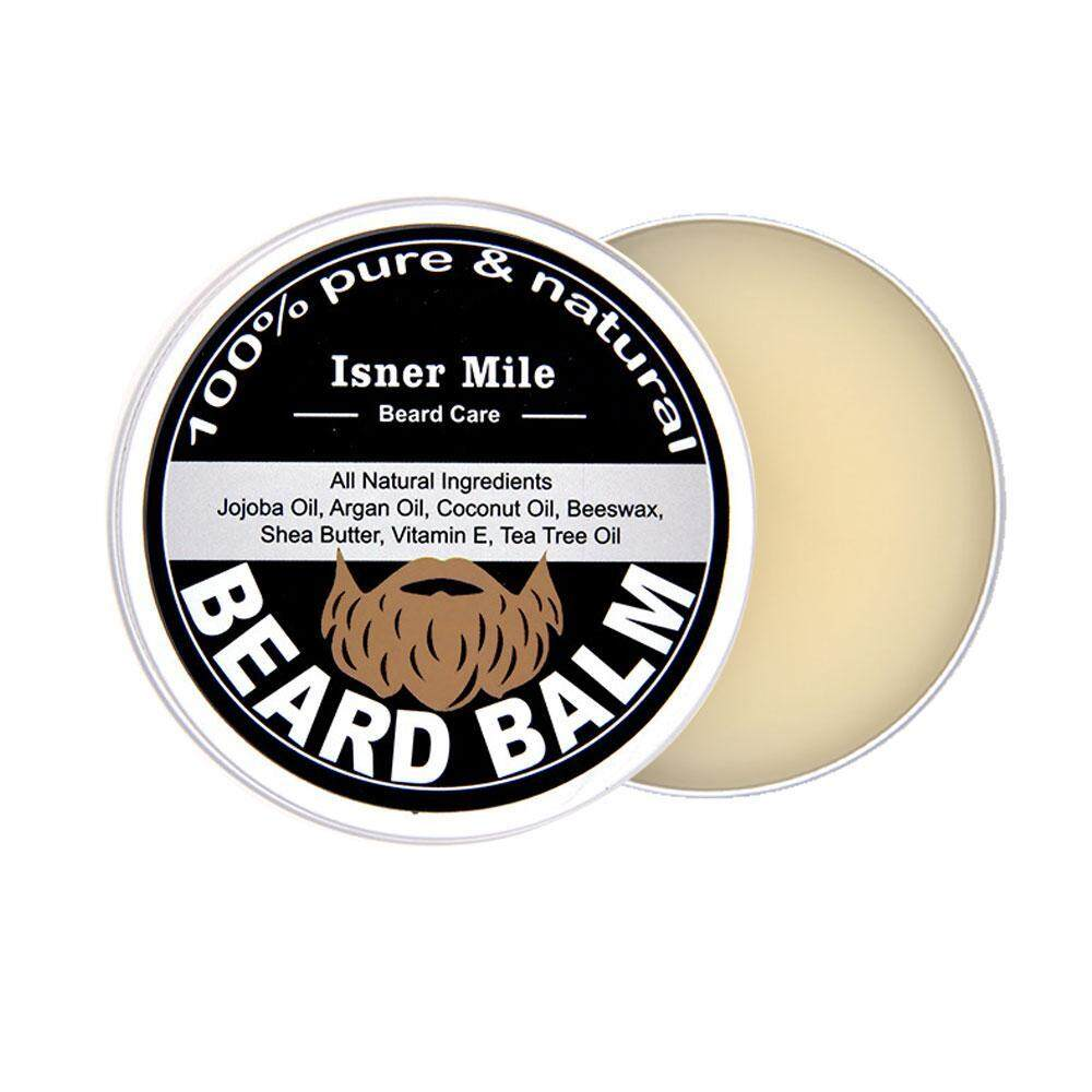 liangun Honest Amish Beard Balm Leave-in Conditioner - All Natural -Vegan Friendly Organic Oils And Butters[60g] - intl