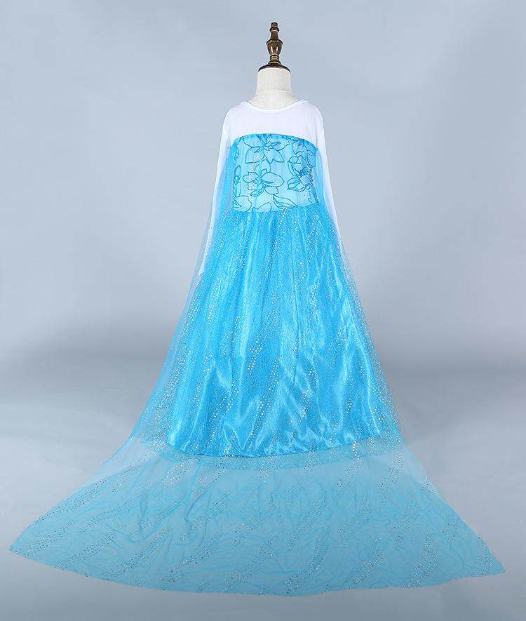 Pakaian Anak-anak Elsa Aisha Gaun Anak Perempuan Putri Skate Elsa LA2 LAWZX053-Intl