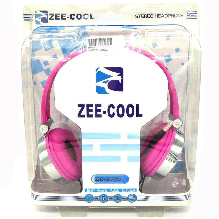 Zee-cool Zc272 Fashion Stereo Headphone 3.5mm Jack With Mic & Bass