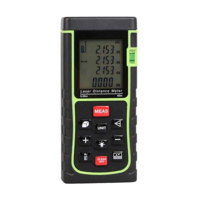 OSMAN 40M Laser Point Distance Meter Handheld Digital Measure Tape Range Finder