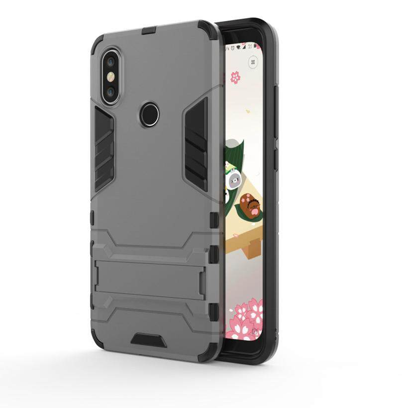 AKABEILA Steady PC TPU Phone Cases For Xiaomi 6X Mi 6X Xiaomi Mi A2 Xiaomi Redmi Note 5 Pro Note 5 Global Version 5.99 inch  Cover Drop Resistance Silicone Material Shell Shockproof Protective Back Cover Case Houisng