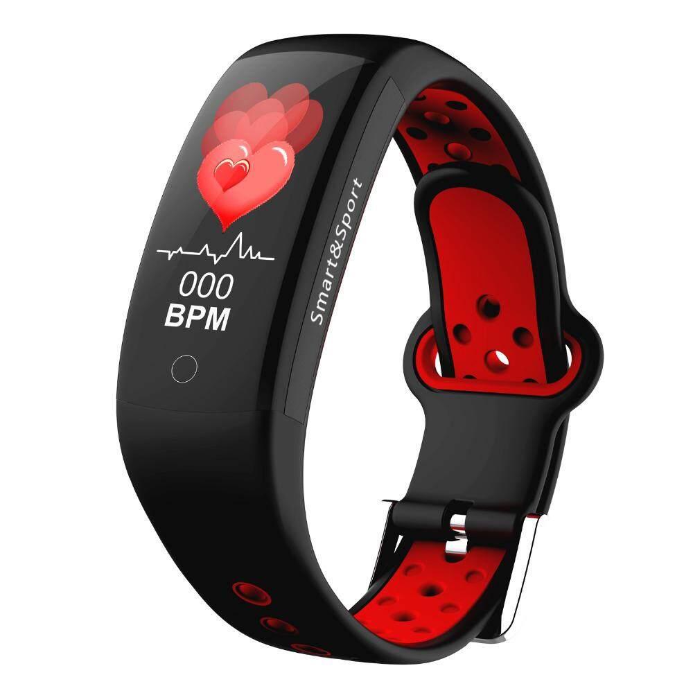 Q6S Heart Rate Monitor Fitness Smart Bracelet Blood Pressure Oxygen Smart  Bracelet Band IP68 Waterproof smart band watch