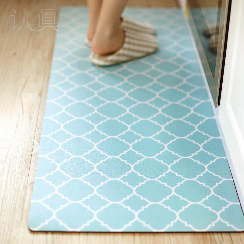 Waterproof and oil proof carpets Non-slip Kitchen Rugs Floor Mats nordic carpet