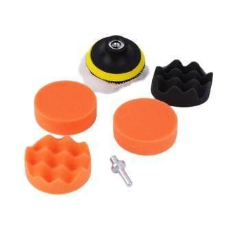 3 inch Polishing Sponge Pad Kit For Car Auto Polisher + M10 Drill Adapter