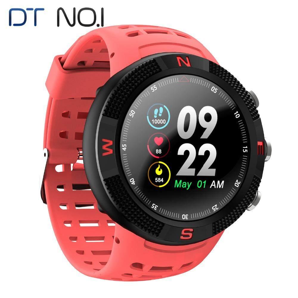 Jam GPS Dtno Aku No.1 F18 Smartwatch Android Kompas Bluetooth 4.2 IP68 Tahan Air Pengukur Pedometer Pintar Jam Tangan Olahraga Baru