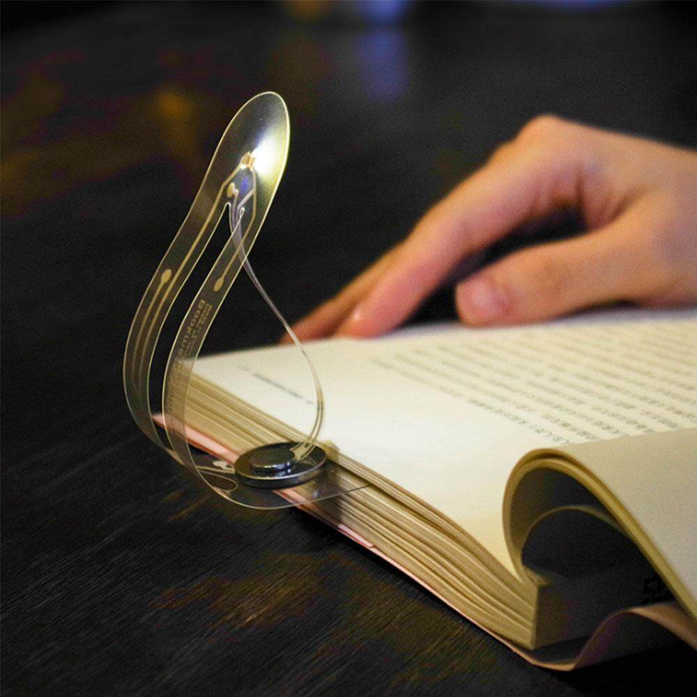Leegoal Led Bookmark Light Mini Book Lights For Reading Study Notebook Reading Lamp - Compact Flexible Led Book Light Reading Lamp Super Thin Bookmark Light By Leegoal.