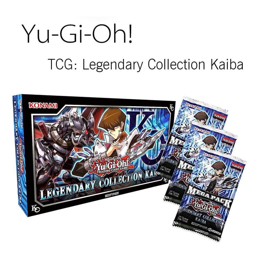 Hình ảnh Yu-Gi-Oh Huyền Thoại Bộ Sưu Tập Kaiba Thẻ Trò Chơi-Xanh Dương-Mắt Rồng Trắng Hỗ Trợ
