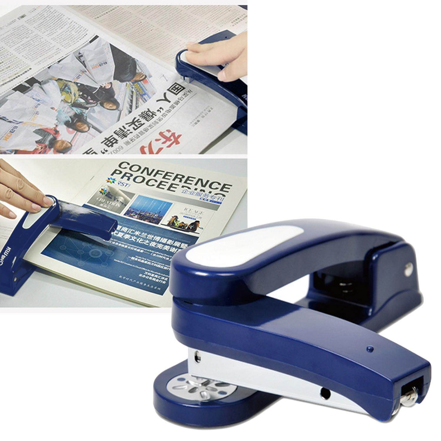360 Degree Rotating Stapler For Desk School Home Office Supplies 24/6mm 26/6mm Random Color By Elek.