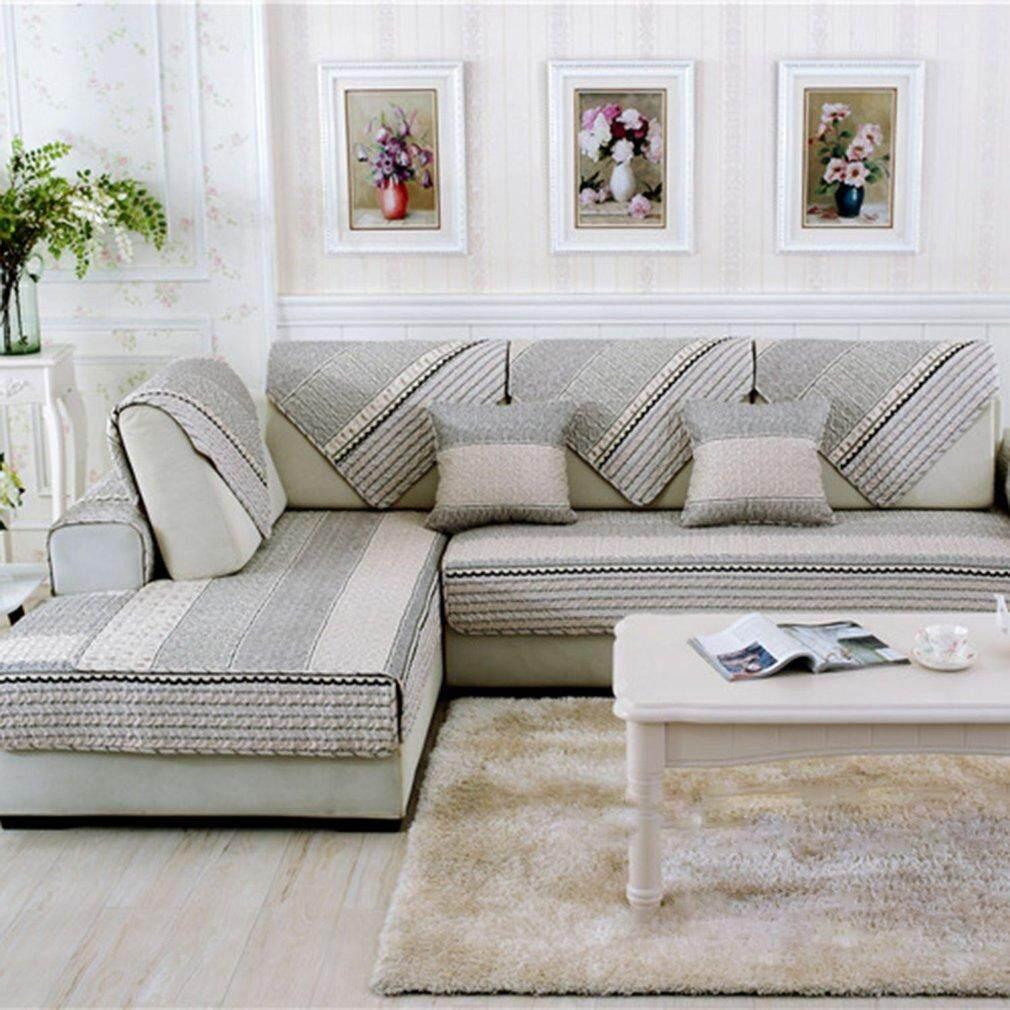 WARM Universal Modern Sofa Furniture Seats Mat Cotton Non-Slip Cover Pad 90*160cm - intl