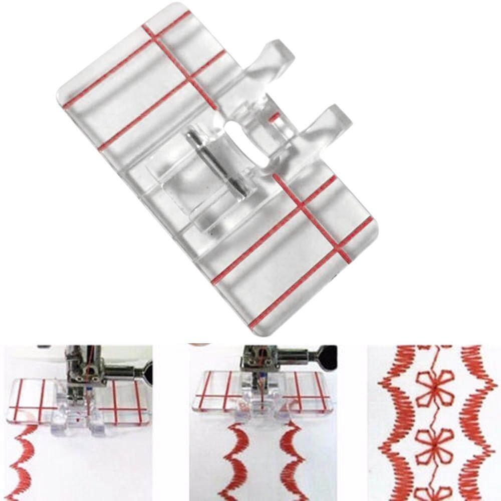 Plastik Paralel Stitch Penekan Kaki untuk Rumah Domestik Mesin Jahit-Internasional