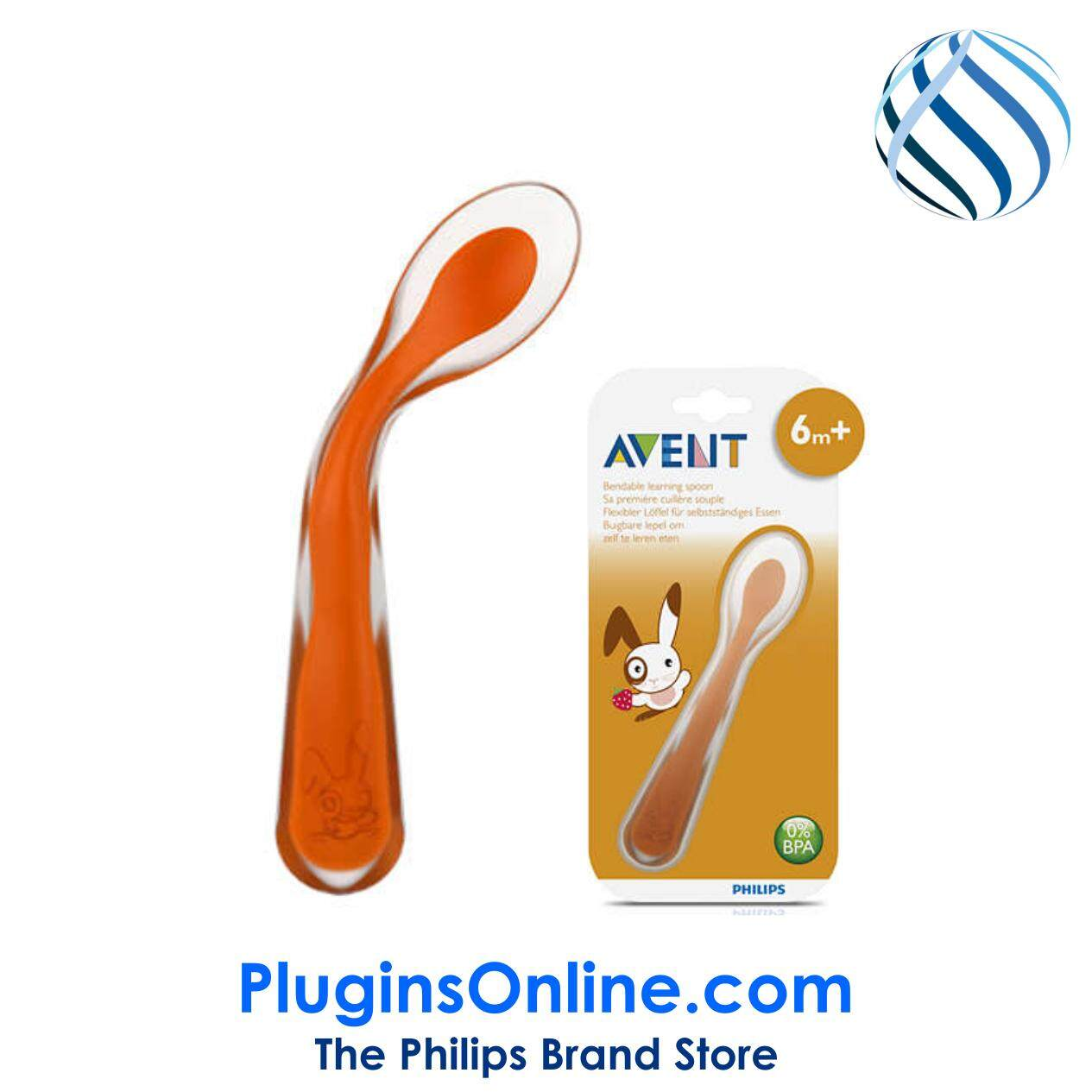 PHILIPS AVENT SCF722/00 Customizable learning spoon 6m+ (SCF722)