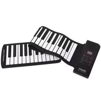 D-Live Terbaik Portabel Fleksibel Elektronik Midi Roll-Up 61 Tombol Lunak Piano Lipat Keyboard 61 Keys Universal Fleksibel Roll Up Piano Elektronik Tuts Piano Lembut By D-Live.