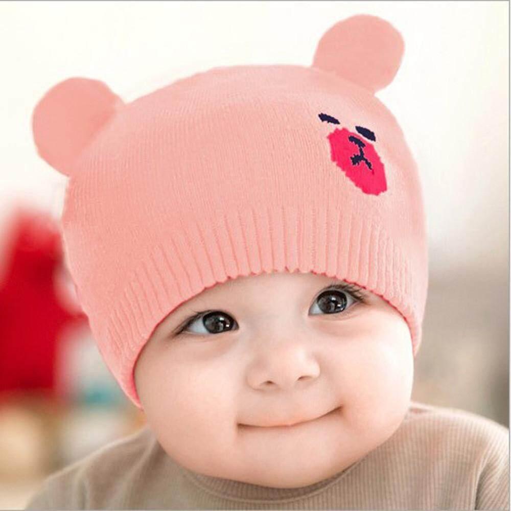 Murphystore 2019 Bayi Anak Baru Lahir Anak Laki-laki Anak Perempuan Topi  Kartun Musim Dingin 38d760f640