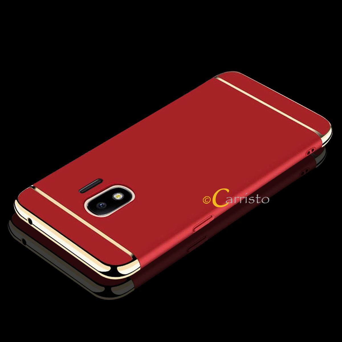 Features 3 In 1 Pc Hard Case Cover Casing For Samsung Galaxy J2 Pro