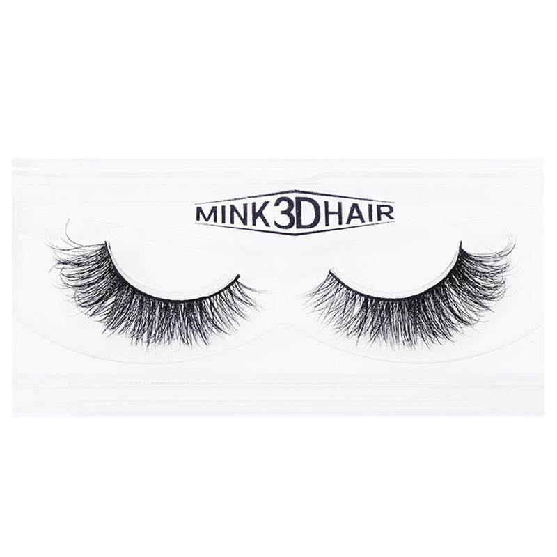 New 1 Pair 3D Mink Eyelash 100% Handmade Thick Lash A19 - intl Philippines