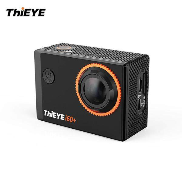 ThiEYE i60+ 4K 30fps WiFi Action Sports Camera 170°  Wide Angle Lens 2.0inch TFT LCD Screen 4X Zoom 60m Waterproof Support Time-Lapse Slow Motion with Lithium Battery