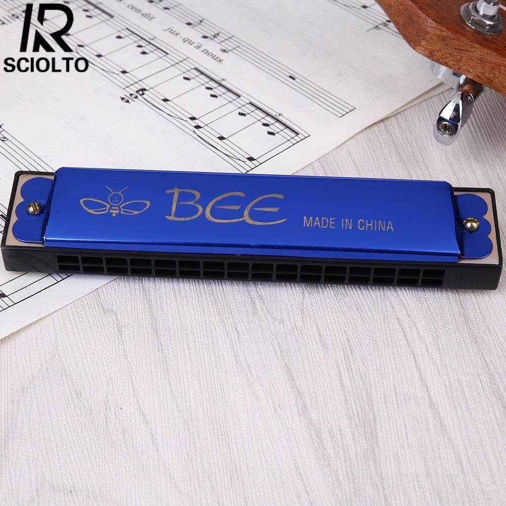 Sciolto Olahraga 10 Lubang Kunci C Diatonis Blues Harpa Harmonika Musik Pemula Mainan Edukasi Hadiah-Intl