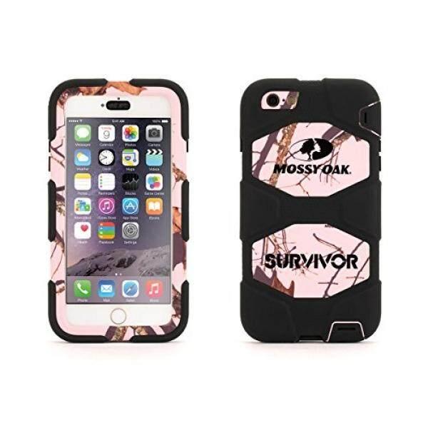 Sarung Telepn Seluler iPhone 6 Plus/6 S Plus Kasar Case, Selamat Segala Medan Pohon Berlumut Pink Breakup-Intl