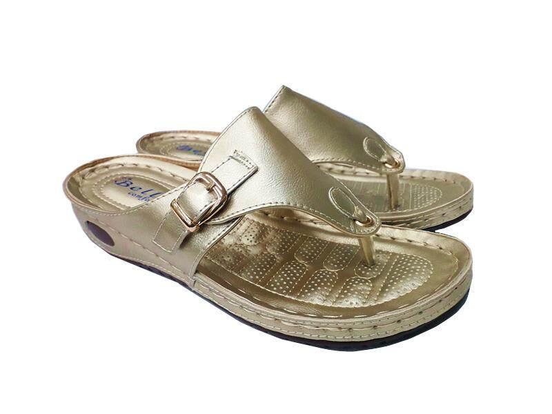 Beli Comfort Shoes HS57055 Colour Black/Gold