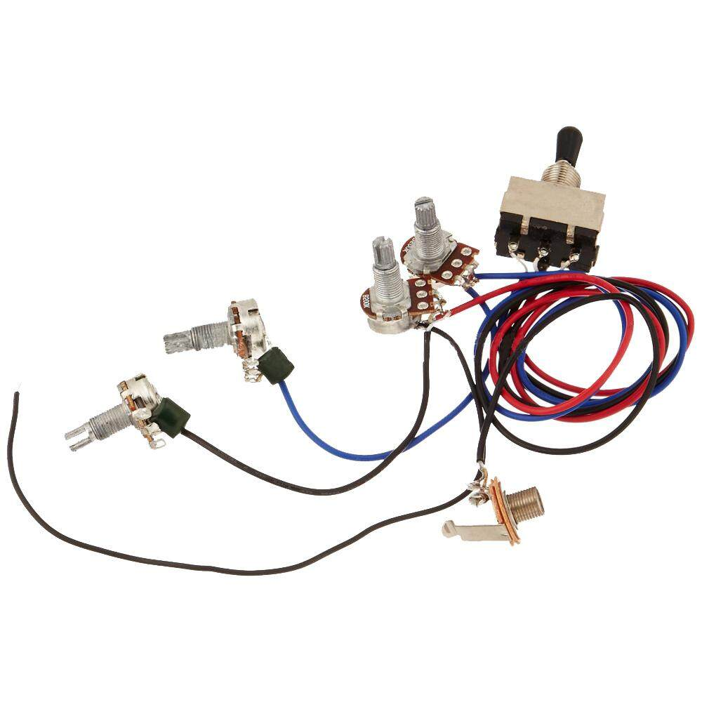 Features Miracle Shining Guitar Wiring Harness 1v2t 1jack 5way Useful Pickup 5 Way Switch 500k Pots For Vinmax Kit 2v2t 3 Toggle Gibson Les Paul Lp Parts