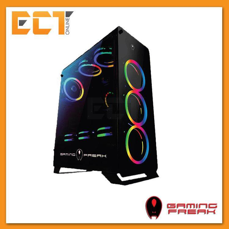 AVF Gaming Freak Falcon 860G RGB Full Tempered Glass ATX Gaming Casing Chassis Malaysia
