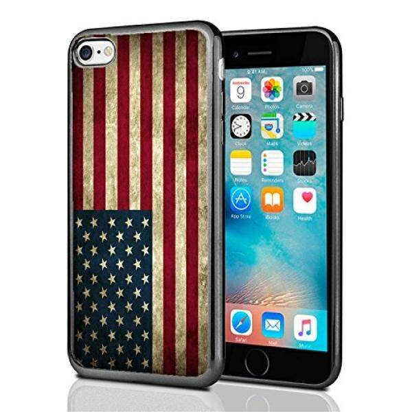 Smartphone Cases USA American Flag Grunge For Iphone 7 (2016) & Iphone 8 (2017) Case Cover By Atomic Market - intl