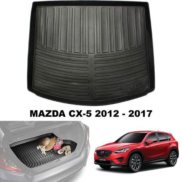 MAZDA CX5 CX-5 2012 - 2016 ORIGINAL ABS Rubber Anti Non Slip Rear Trunk Boot Cargo Tray