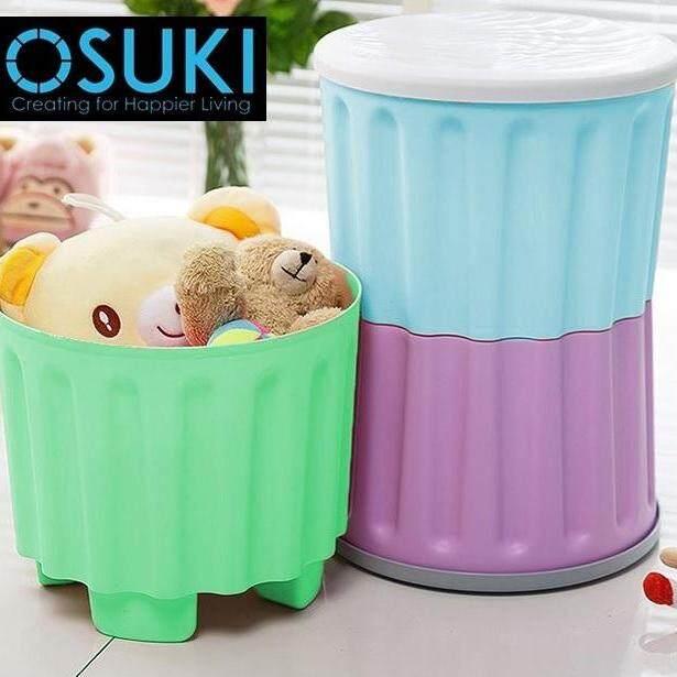 OSUKI Multipurpose Kids Step Stool Home Storage (2 Units)